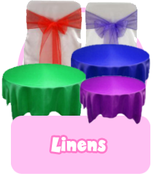 Chair Covers and Sashes banner