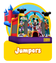 Jumpers banner featuring mickey mouse